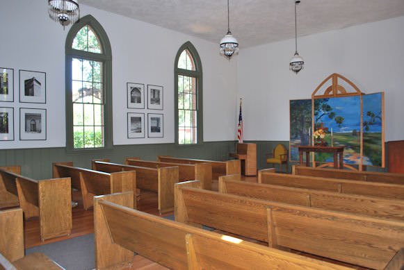 Harmony Grove Church Inside View