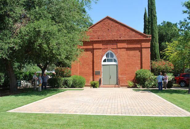 Harmony Grove Church Entrance