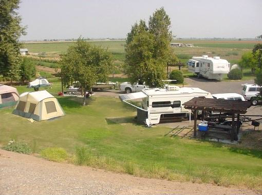 RV Tent Camping
